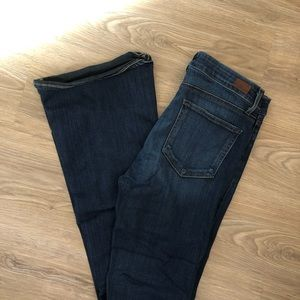 PAIGE Jeans - PAIGE High Rise Bell Canyon Flare, Nottingham SZ30